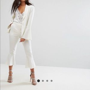 NWT Missguided flare hem tailored pants